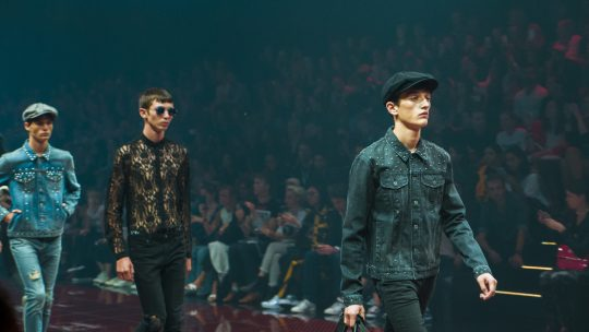 Bread and Butter in Berlin Runway Fashion Photos for Hugo Boss and Topman photographes by Svenja Ava and Street Religion_1